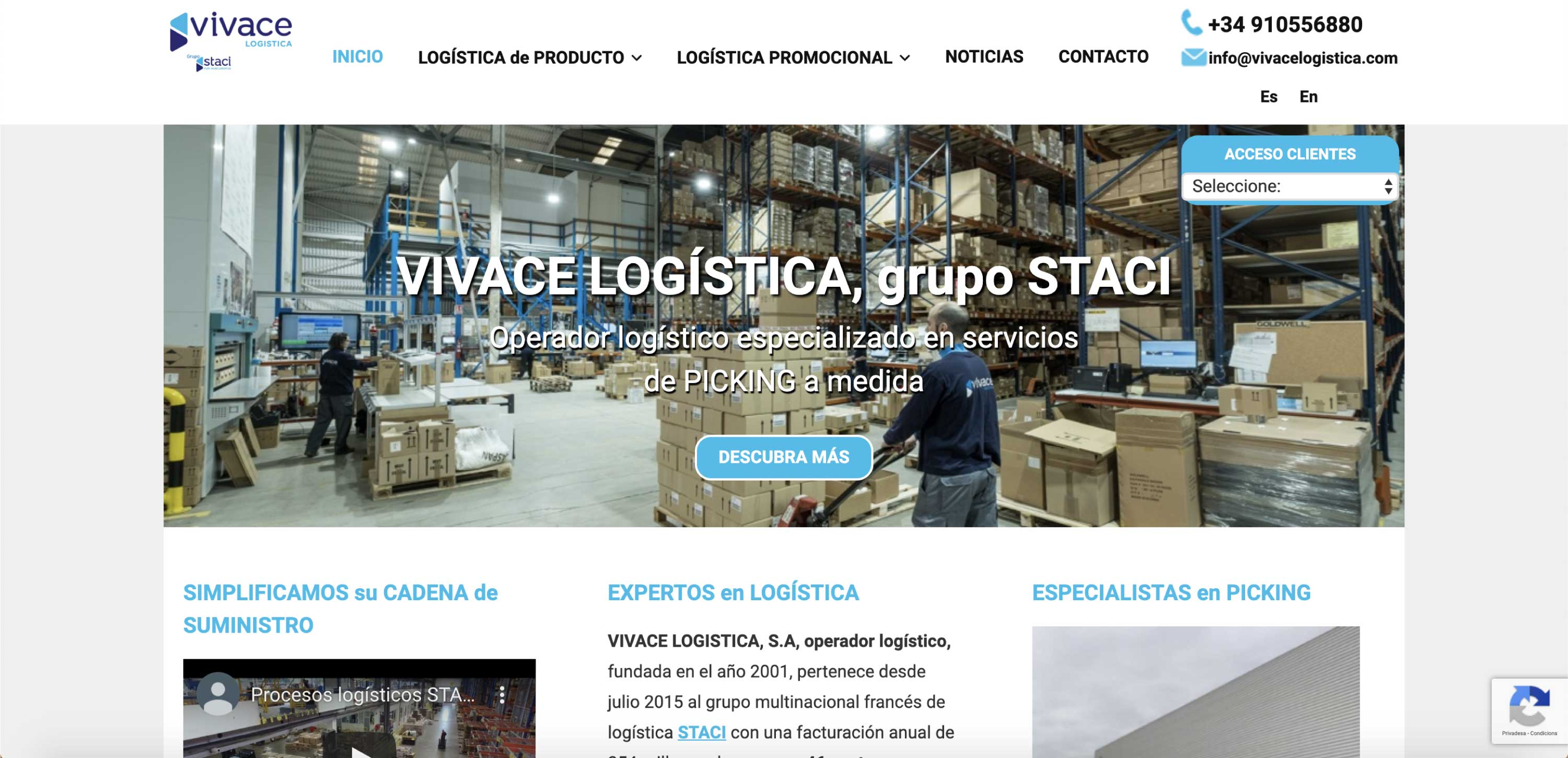 Vivace Logistica Madrid